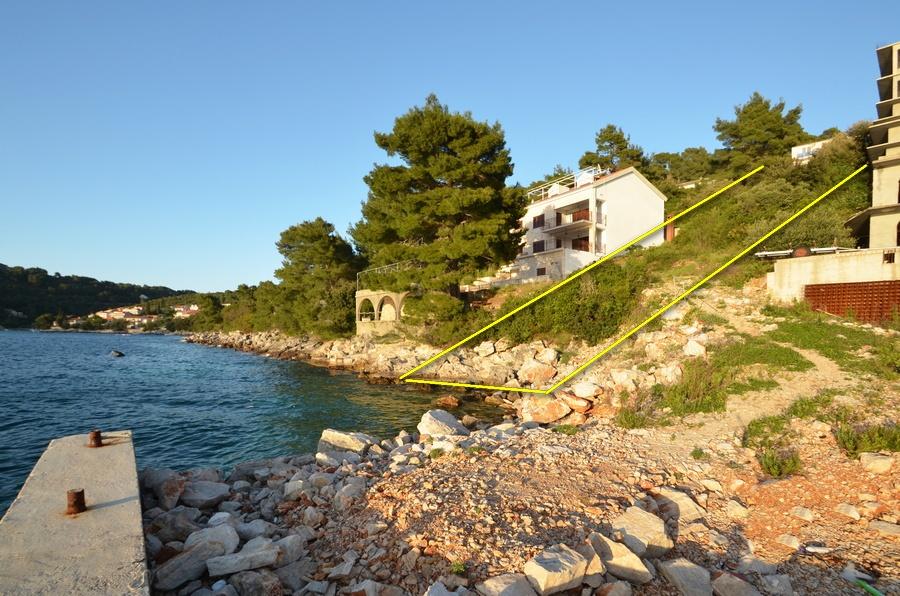 Građevinsko zemljište - prvi red do mora - Brna, otok Korčula - brna gradjevinsko zemljiste prvi red 02