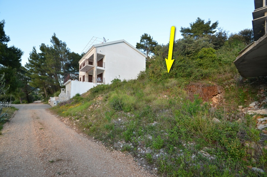 Building Plot - First Row Near the Sea - Brna, Korčula - brna gradjevinsko zemljiste prvi red 04