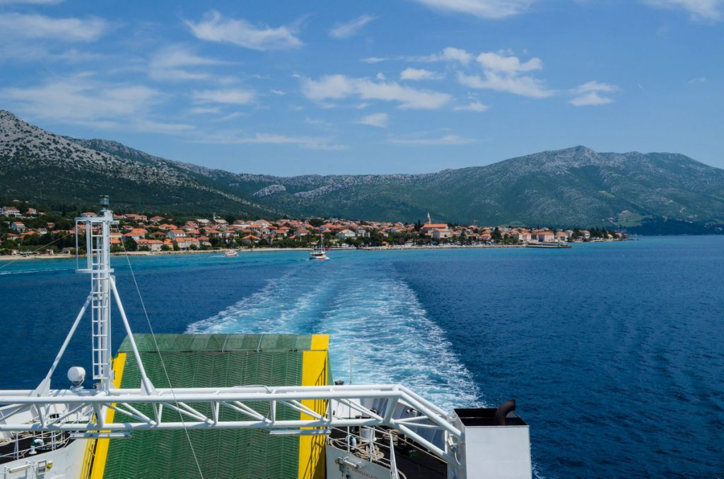 Arrival to Island of Korcula with Korcula and Vela Luka Ferries - ferry orebic domince korcula 03 1024x678