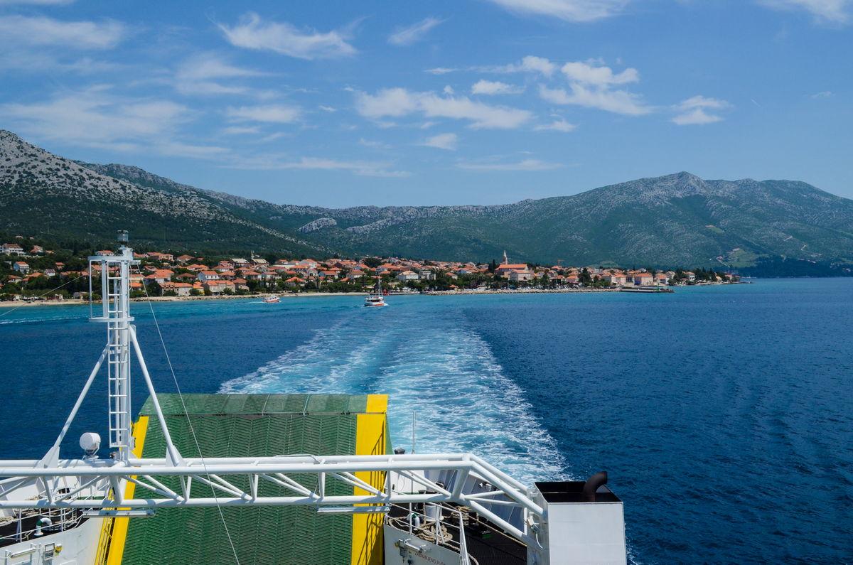 Korcula ferries Vela Luka Split , Ploce Trpanj and Orebic Korcula